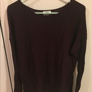 Old Navy PURPLE LS Sweater XL